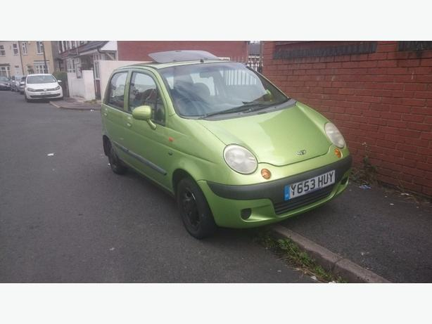 daewo matiz 2003 long mot start and drive