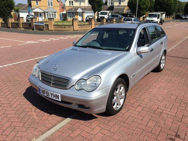 2001 51 Mercedes-Benz C Class 2.0 C200 5 Dr Estate Petrol Automatic long Mot