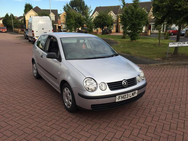 2003 Volkswagen Polo 1.2 Petrol Manual Gearbox 3 dr Long Mot