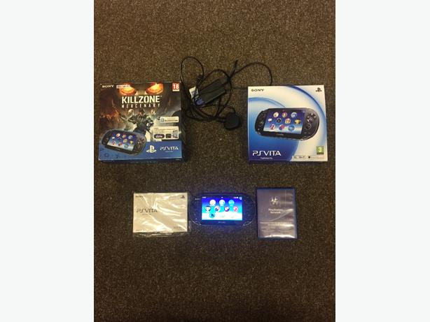 ps vita 3G & wifi boxed with game