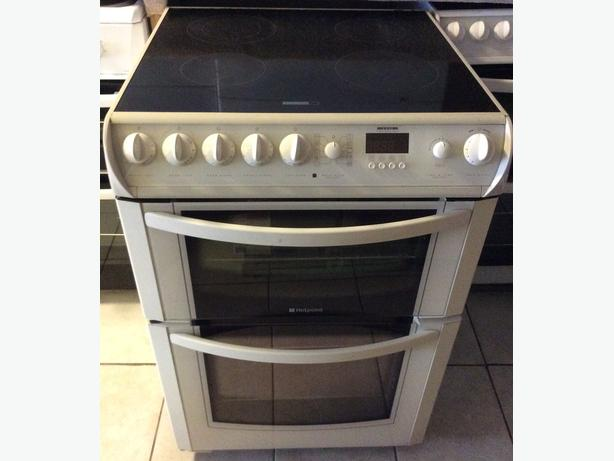 Hotpoint 60cm Electric Double Oven with Warranty