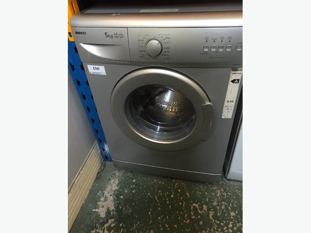 ☀️🔵 beko silver washer free delivery and pipes