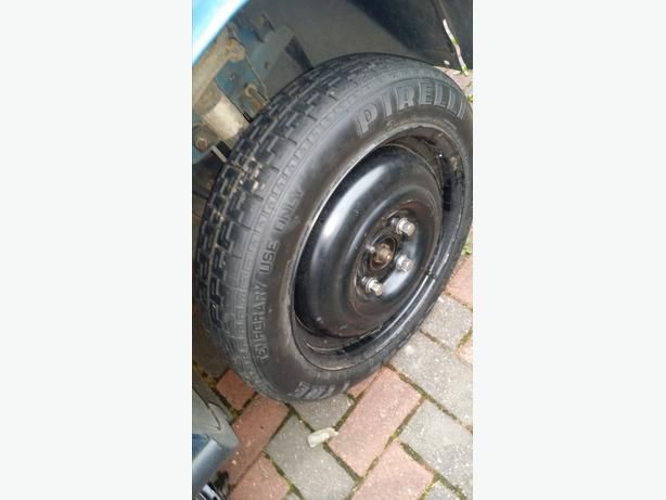 spare wheel ford focus