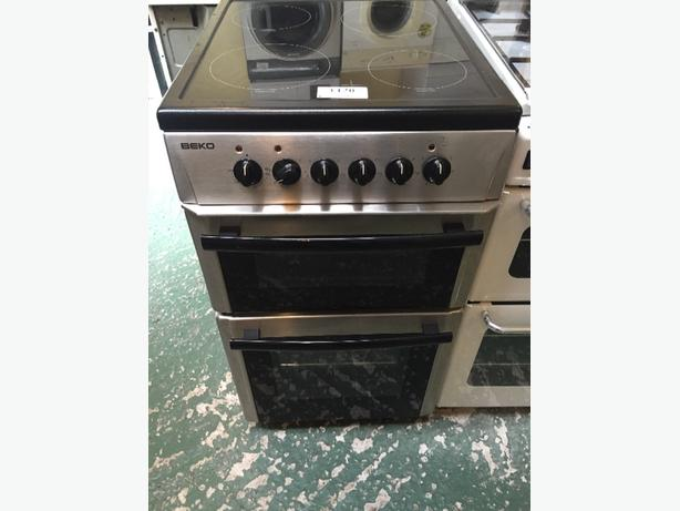 ☀️🎈 beko cooker 50cm free delivery and fitting