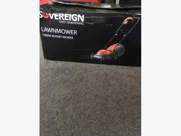 sovergein 1000w lawmower