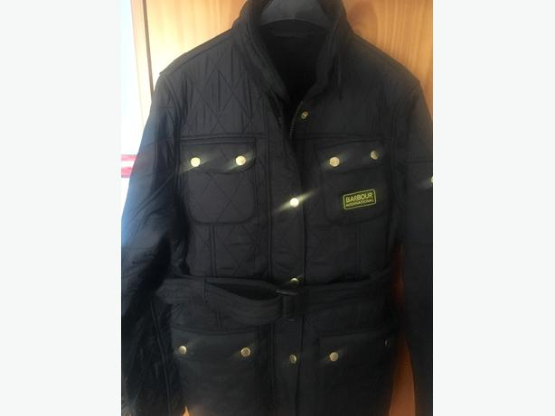 barbour boys coat