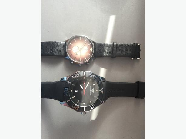 2 armani watches