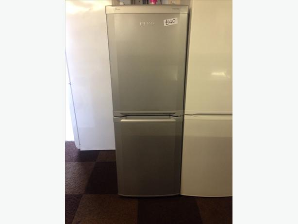 BEKO FROST FREE SILVER FRIDGE FREEZER089