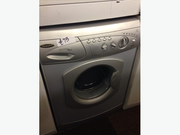 HOTPOINT SILVER WMA WASHING MACHINE @ *PLANET APPLIANCE*