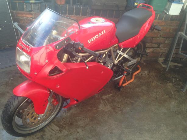 Ducati 600cc super sport
