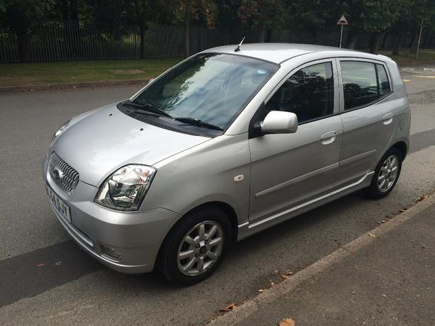54 Kia Picanto 1.1 SE, 5 Door, Petrol, Low Mileage, Mot October 2016