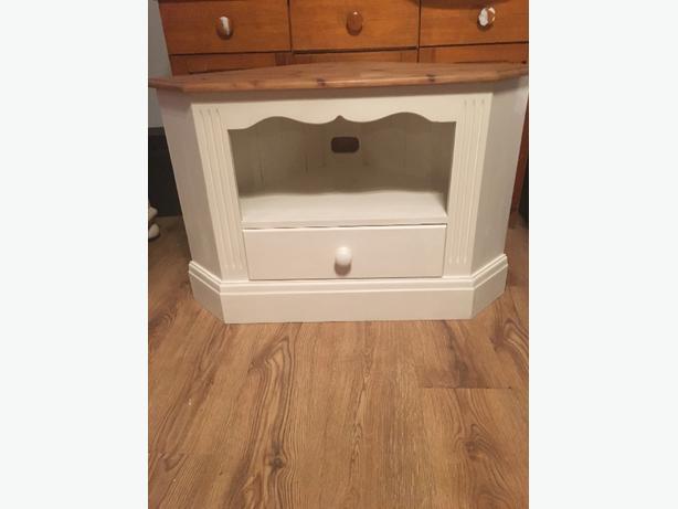 shabby chic corner tv unit walsall wolverhampton. Black Bedroom Furniture Sets. Home Design Ideas
