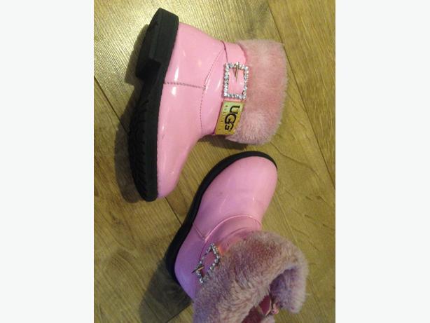 kids pink ugh boots