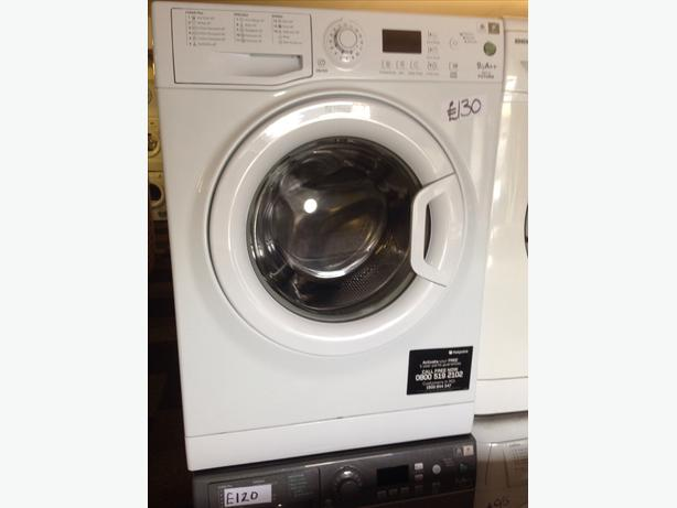 9KG HOTPOINT WASHING MACHINE08