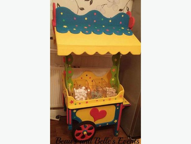 Children's candy cart