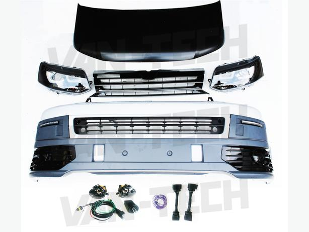 VW T5 Front End Conversion Styling Pack includes Wiring kit