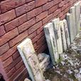 FREE BRICKS - DECORATIVE WALL TAKEN DOWN - BRICKS NEED CLEANING