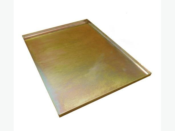 "Ellie-Bo Replacement Gold Metal Tray for a 36"" Dog Cage"