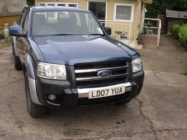 2007 ford ranger XLT 2.5 diesel 8 months mot