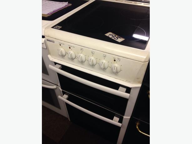 50CM BEKO ELECTRIC DOUBLE OVEN COOKER06