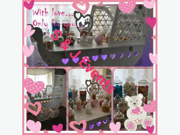 baby shower candy cart west Mlds area