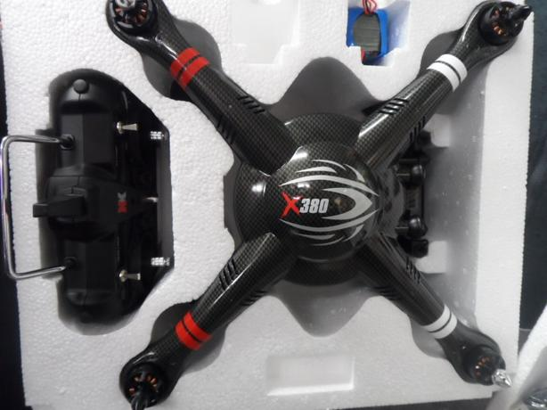 XK DETECT X-380 WITH (FAP) PLUS PROP GUARDS. Drone UAV, phantom DJI