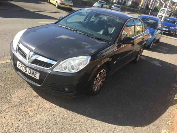 06 plate vectra 92000 miles
