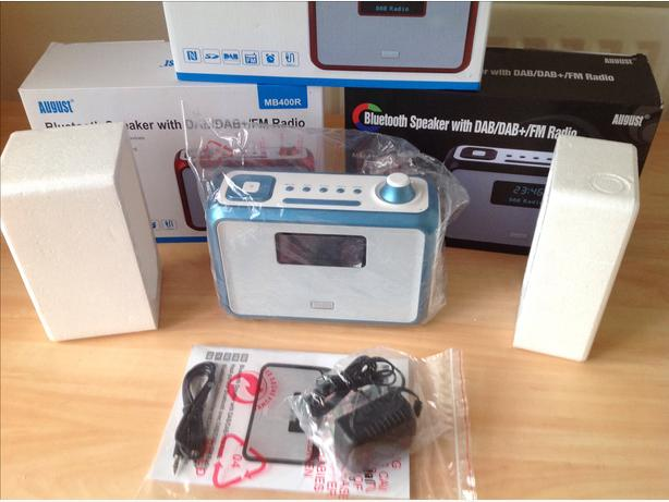 New dab radios & Bluetooth speaker