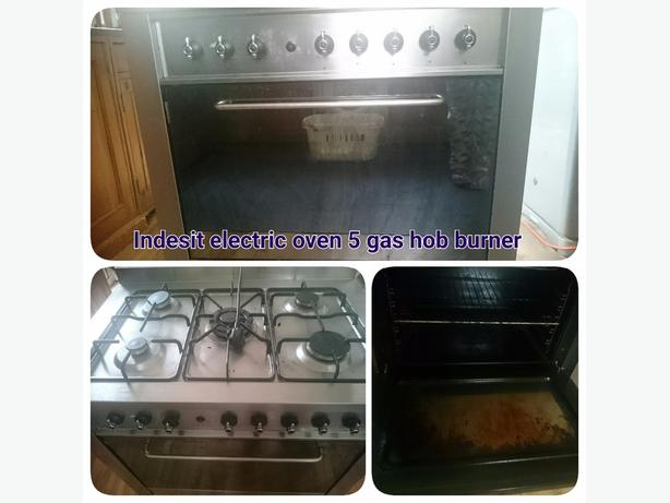Indesit electric oven gas hobs