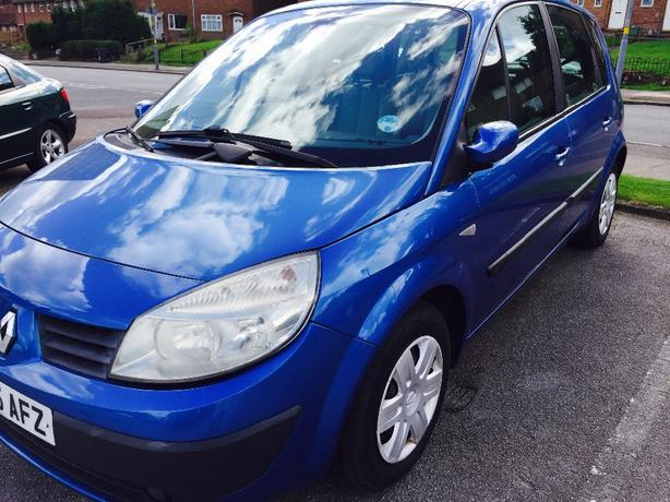2005 scenic 1.5. diesel. 30 road tax