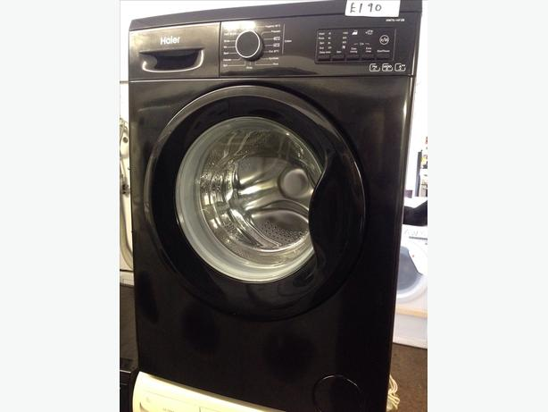 *GRADED* HAIER BLACK WASHING MACHINE @ *PLANET APPLIANCE*
