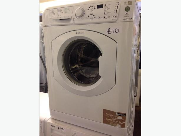 1600 SPIN HOTPOINT 7KG WASHING MACHINE @ *PLANET APPLIANCE
