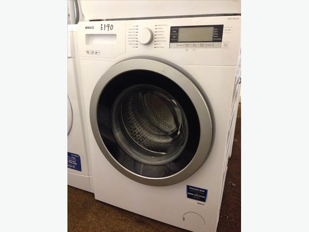 1400 SPIN BEKO 10KG WASHING MACHINE @*PLANET APPLIANCE