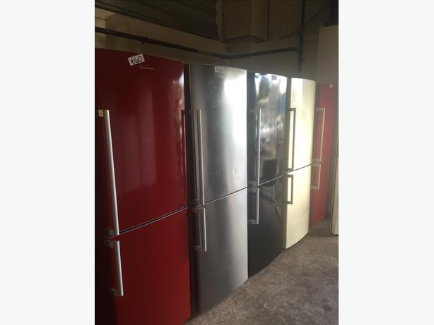 GREAT COLOURS AND DESIGNS OF FRIDGE FREEZERS STARTING £120 with guarantee