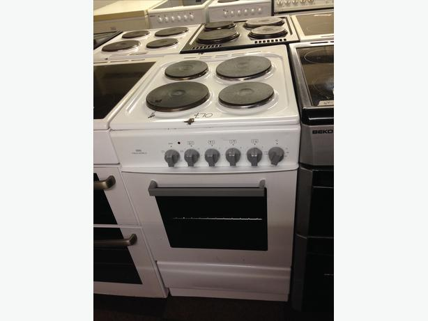 CHEAP ELECTRIC COOKER 50 CM WIDE MADE BY NEWWORLD WITH GUARANTEE