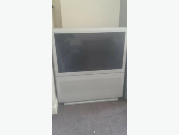 large big back tv