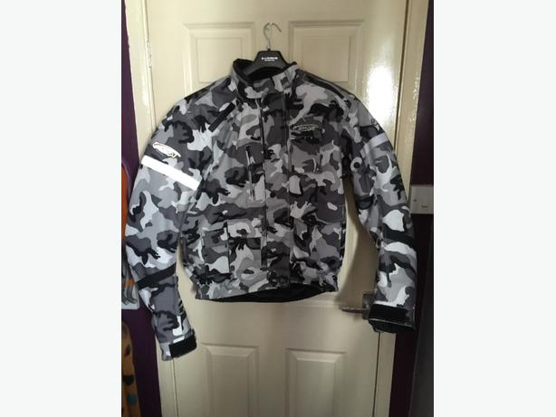 mens large sparda motorbike jacket