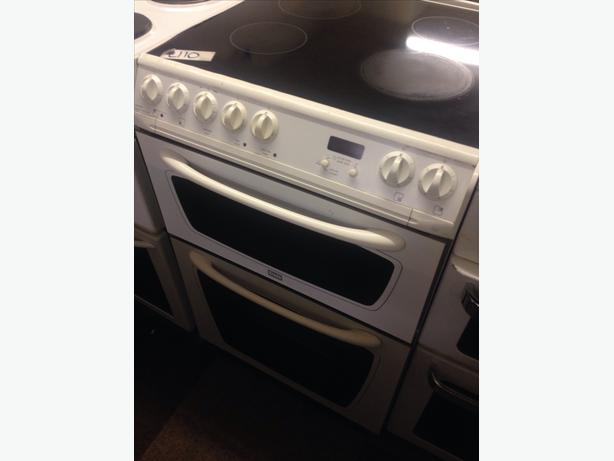 60CM CREDA ELECTRIC COOKER DOUBLE OVEN