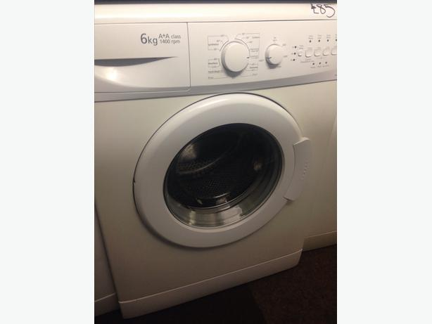 WHITE BEKO 6KG 1400 SPIN WASHING MACHINE008