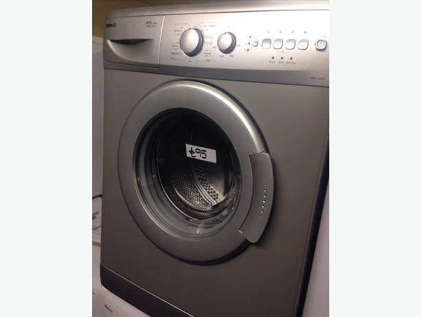 SILVER BEKO WASHING MACHINE202