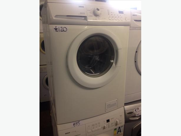 ZANUSSI WASHER DRYER 6KG 1400 SPIN30