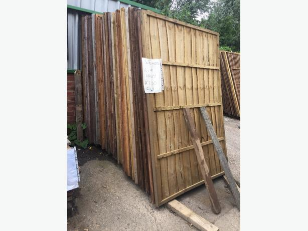 6X4 FENCE PANELS WANEY LOADS IN STOCK £7 EACH DELOVERY AVAILABLE