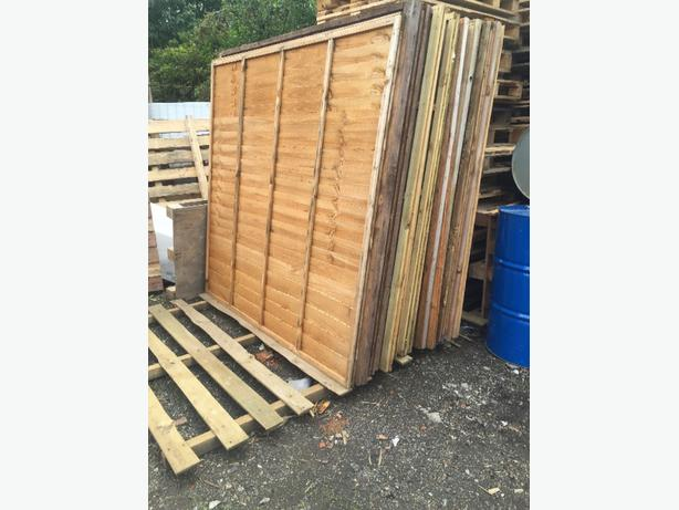6X6 FENCE PANELS WANEY £10 EACH LOADS AVAILABLE