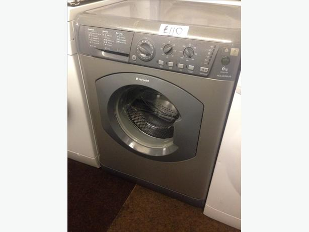 6KG GREY HOTPOINT WASHING MACHINE078