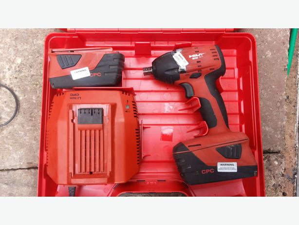 Hilti Siw 22-A Impact wrench 22V 2015 year