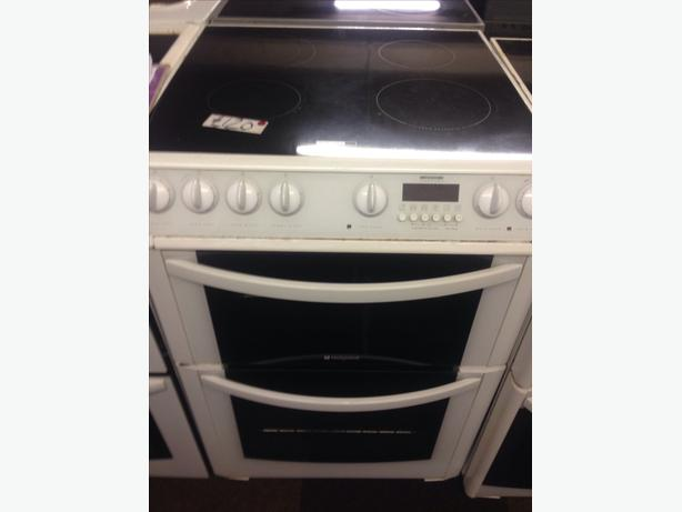 60CM HOTPOINT DOUBLE OVEN ELECTRIC COOKER036