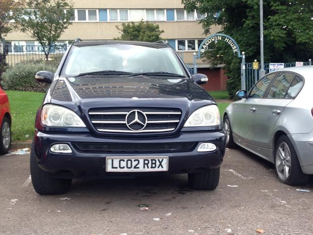mercedes ml 270 cdi 2003 tipton wolverhampton. Black Bedroom Furniture Sets. Home Design Ideas
