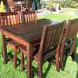 Garden table and chairs (used)