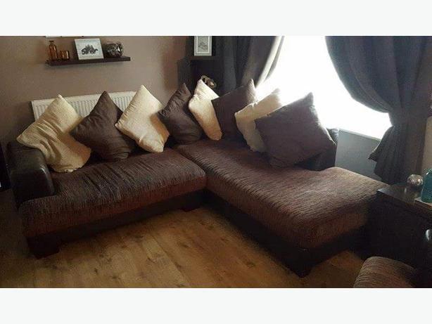 harveys corner sofa and two seater sofa.