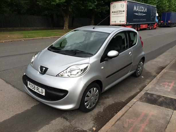 peugeot 107 (same as Toyota aygo, Citroën C1) semi auto 11000 miles from new